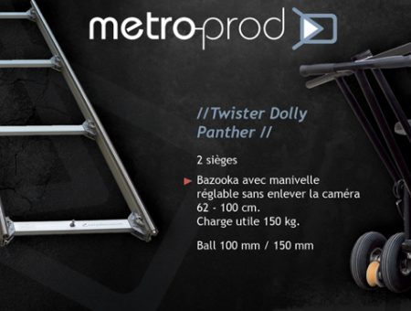 Twister Dolly et Track PANTHER
